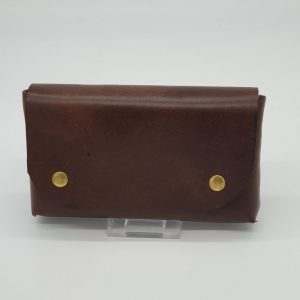 Brown Belt Pouch by Len Canton - market house craftworks